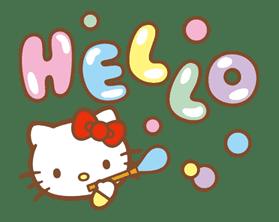 Hello Kitty (Happy Days ver.)  sticker #11937