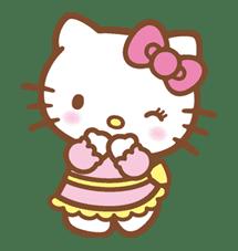 Hello Kitty (Happy Days ver.)  sticker #11939