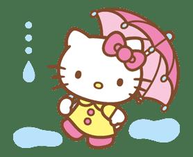 Hello Kitty (Happy Days ver.)  sticker #11940