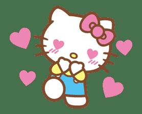 Hello Kitty (Happy Days ver.)  sticker #11942