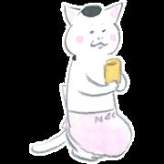 สติ๊กเกอร์ไลน์ Kyou no Nekomura-san