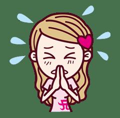 ayupan (ayumi hamasaki) sticker #13733