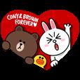 ブラウン&コニー ラブぽよデート♪