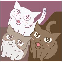 アニメくるねこ | StampDB - LINEスタンプランキング