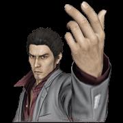 สติ๊กเกอร์ไลน์ Ryu ga Gotoku