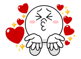 LINE Characters in Love! sticker #22082