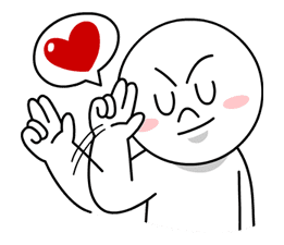 LINE Characters in Love! sticker #22087