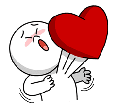 LINE Characters in Love! sticker #22089