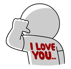 LINE Characters in Love! sticker #22090