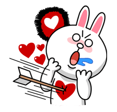 LINE Characters in Love! sticker #22094