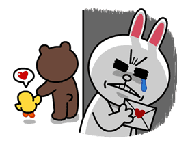 LINE Characters in Love! sticker #22099