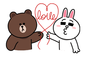 LINE Characters in Love! sticker #22102