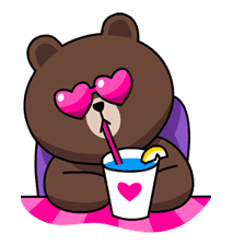 LINE Characters in Love! sticker #22104