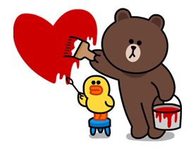 LINE Characters in Love! sticker #22106