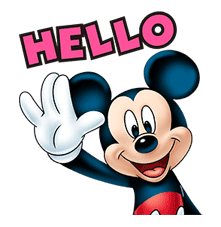 Mickey Mouse: Lovely Smile sticker #37788