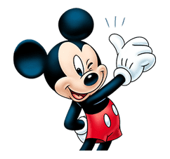 Mickey Mouse: Lovely Smile sticker #37789