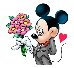 Mickey Mouse: Lovely Smile sticker #37800