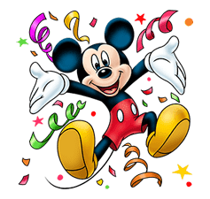 Mickey Mouse: Lovely Smile sticker #37803