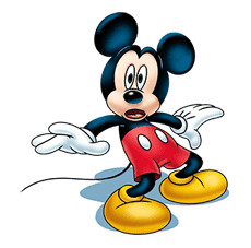 Mickey Mouse: Lovely Smile sticker #37805