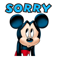 Mickey Mouse: Lovely Smile sticker #37806