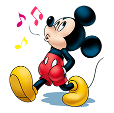 Mickey Mouse: Lovely Smile sticker #37815