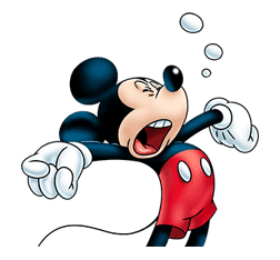 Mickey Mouse: Lovely Smile sticker #37825