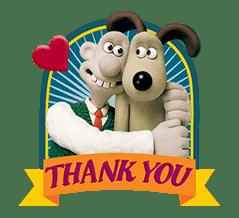 Wallace & Gromit sticker #1038684
