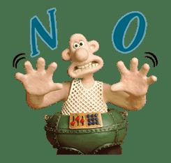 Wallace & Gromit sticker #1038687