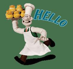 Wallace & Gromit sticker #1038690