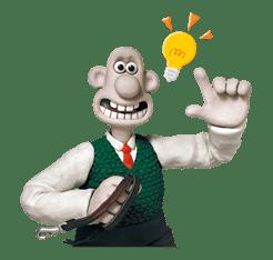 Wallace & Gromit sticker #1038695