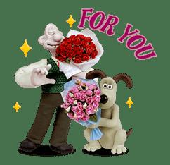 Wallace & Gromit sticker #1038698