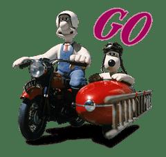 Wallace & Gromit sticker #1038719