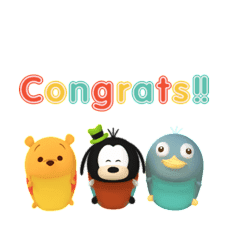 Disney TsumTsum Animated Stickers sticker #6708459