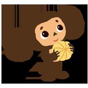 สติ๊กเกอร์ไลน์ Cheburashka