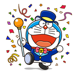 Doraemon sticker #4361