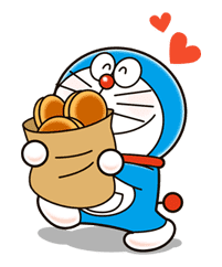 Doraemon sticker #4370