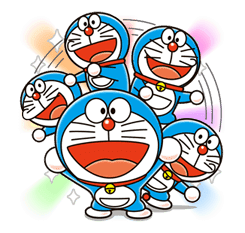 Doraemon sticker #4393
