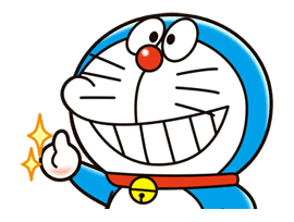 Doraemon sticker #4395