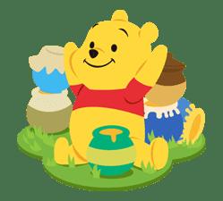 Winnie the Pooh sticker #7184