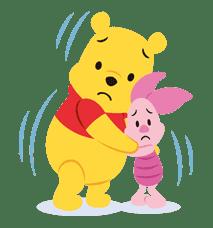 Winnie the Pooh sticker #7192
