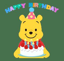 Winnie the Pooh sticker #7203