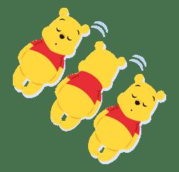 Winnie the Pooh sticker #7212