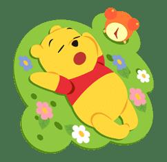 Winnie the Pooh sticker #7217