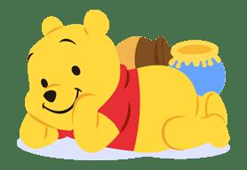 Winnie the Pooh sticker #7219