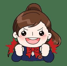 Yuko the Schoolgirl sticker #8001