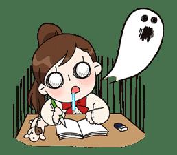 Yuko the Schoolgirl sticker #8012