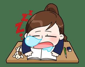 Yuko the Schoolgirl sticker #8013