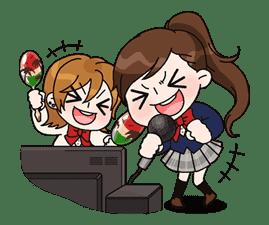 Yuko the Schoolgirl sticker #8026