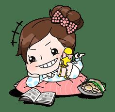 Yuko the Schoolgirl sticker #8028