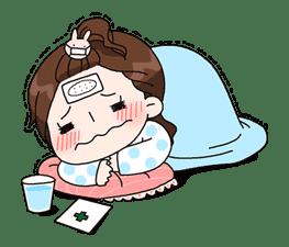 Yuko the Schoolgirl sticker #8029